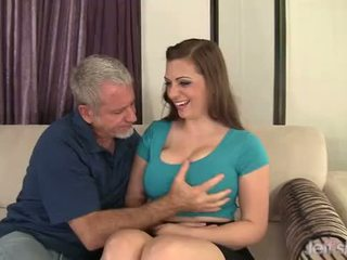 Big Boobed Jessica Roberts takes cock
