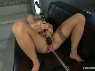 hardcore sex, nice ass, toys, fucking machine, vibrator, anal sex