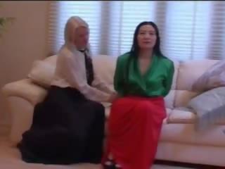 lesbičky, dlho, sukne