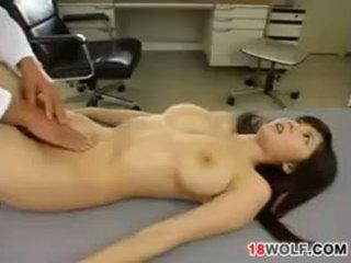 Japonez adolescenta fata gets inpulit de o medic