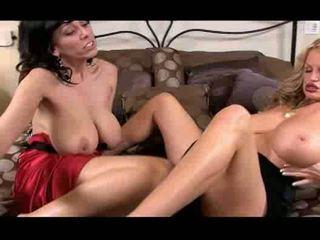 Kelly madison & alia janine tự nhiên milfs