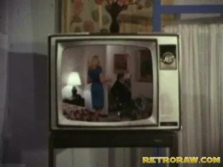 Retro tv spettacolo trio