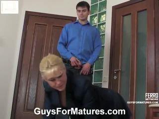 Shocking porno video featuring pěkný benjamin, bridget, connor brought podle guys pro matures