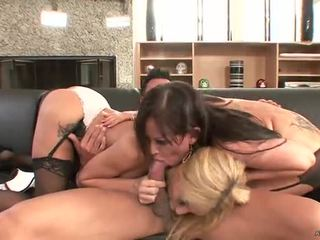 group sex, blowjob, and