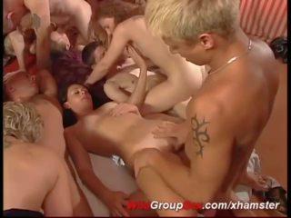 Tyska swinger klubb orgia, fria swinger orgia porr video- cd