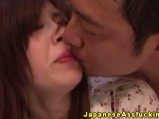 Asiatisk babes gaping anal creampie