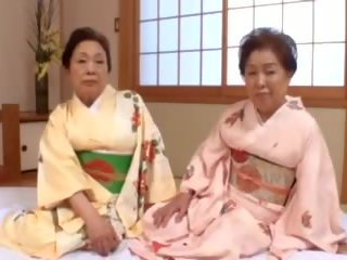 japanese, bbw, granny