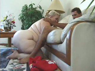 blondinės, riebalai, fat mature