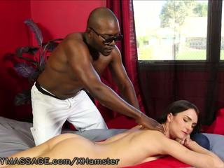 milfs, interracial, massage