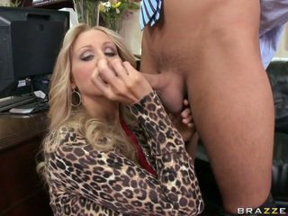 A עסקים גברת giving ראש