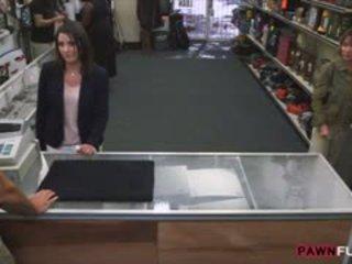 Customers אישה screwed על ידי חרמן pan אדם ב the חדר האחורי
