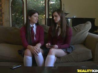 онлайн ученички, училищна униформа пълен, гледайте голи ученички нов