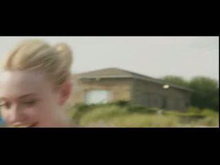 Dakota fanning in elizabeth olsen suhe dipping