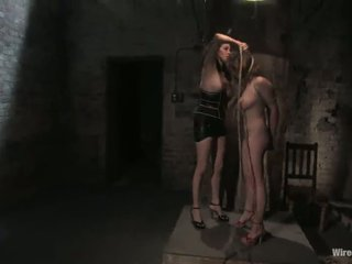Rope And Toying Movement In Lezzy Slavery Vid For Sara Scott
