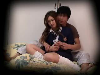 Spycam νέος κορίτσι του σχολείου seduced