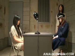 Japans lesbisch dominantie bij de gevangenis