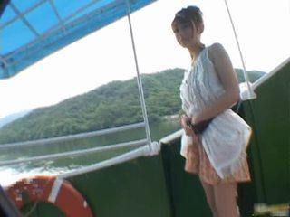 Reon Otowa Lovely Asian Doll Having