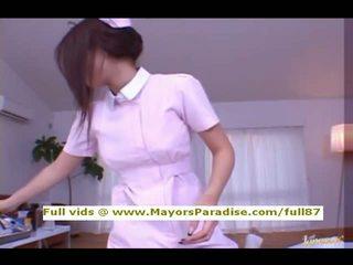 Risa kasumi aus idol69 asiatisch krankenschwester does blowjob