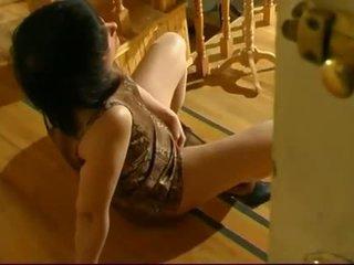 masturbuoti, euras, shaved pussy