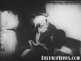 Zeldzaam 1920s antiek kerstmis porno - een kerstmis tale