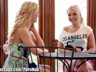 AllGirlMassage MILF Step-Mom Lesbian Facesits - Porn Video 031