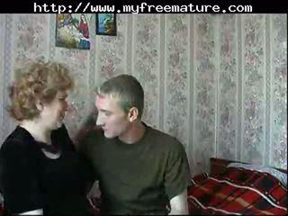 Russian Mom Son mature mature porn granny old cumshots cumshot
