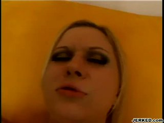 Blond aaralyn barra receives sie eng hole pounded schwer