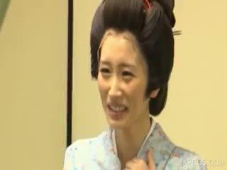 japonec, veľké prsia, jednotný