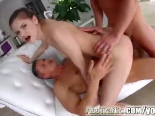 Rumpe traffic anna taylor double penetration anal hardcore scene video