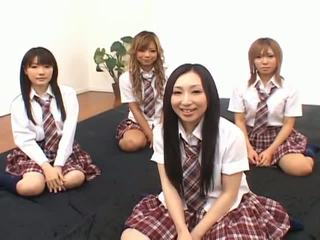 japon, asyalı kızlar, kız öğrenciler