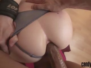 CHEATING WIFE HANDCUFFED AND ANAL FUCKED BY MASSIVE BBC