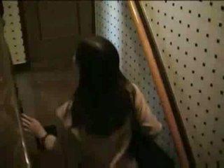 japonijos, voyeur, blowjob