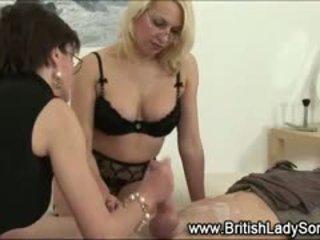 ideal british, cumshot, more femdom see