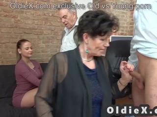 jauns, grupu sekss, vecs
