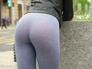flashing, big ass, public