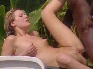 White Wife meets Black Lover in Jamaic...
