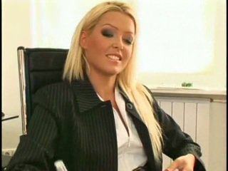 Super 性感 和 美麗 新 女同志 秘書