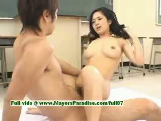 Sora aoi het flicka sexig japanska studenten gets en hård knull