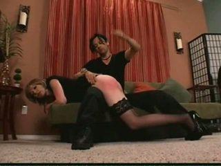 over de knie spanking, spanking, otk