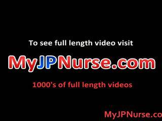 Aki yatoh aziatisch verpleegster likes neuken
