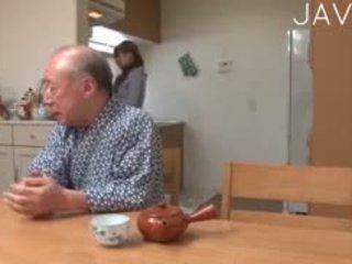 japoński, stary + młoda, nastolatków
