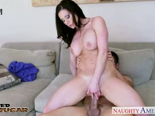 brunette, suck, cougar
