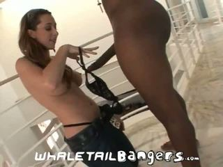 """Unfaithful Housewives: Kaylynn picked up by 12"""" of monster black dick"""