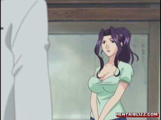 Emme jaapani hentai gets squeezed tema bigboobs