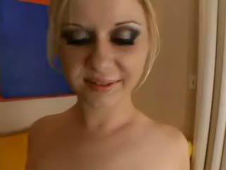 Aaralyn barra - blondinka is practicing for the döl olinpic