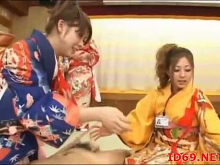 Japonais av modèle cul peloté
