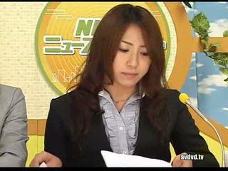 Jepang newsreaders ayumu sena dan fuuka minase squirting l