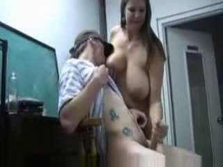 big tits, moms and boys