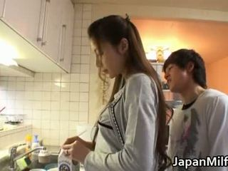 japonec, kuchyne, milf