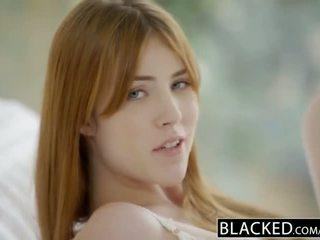Blacked gwen stark ja amarna miller esimene rassidevaheline kolmekesi
